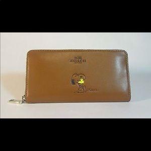 Coach Snoopy Special Edition Wallet